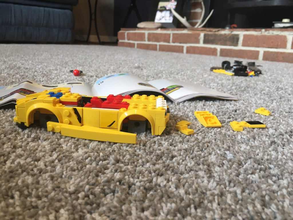 Building Lego race cars